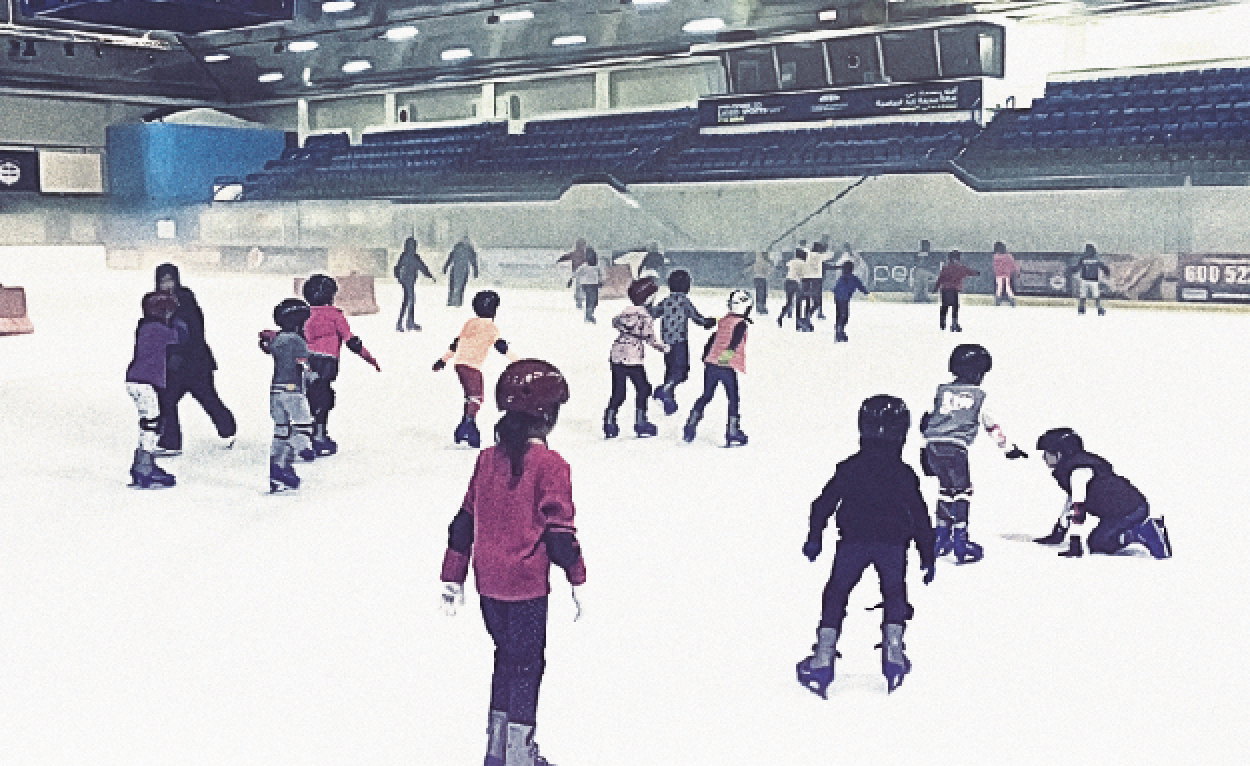 Scoot off to an ice rink and learn to pull off that perfect free spin