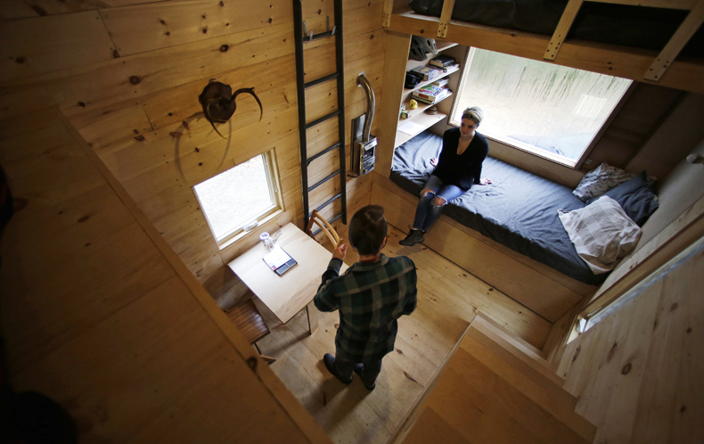 Home Sweet Car: The tiny home movement in the US has wheels