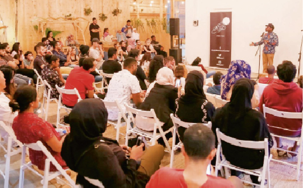 Haven't been to an open mic in the UAE? You should