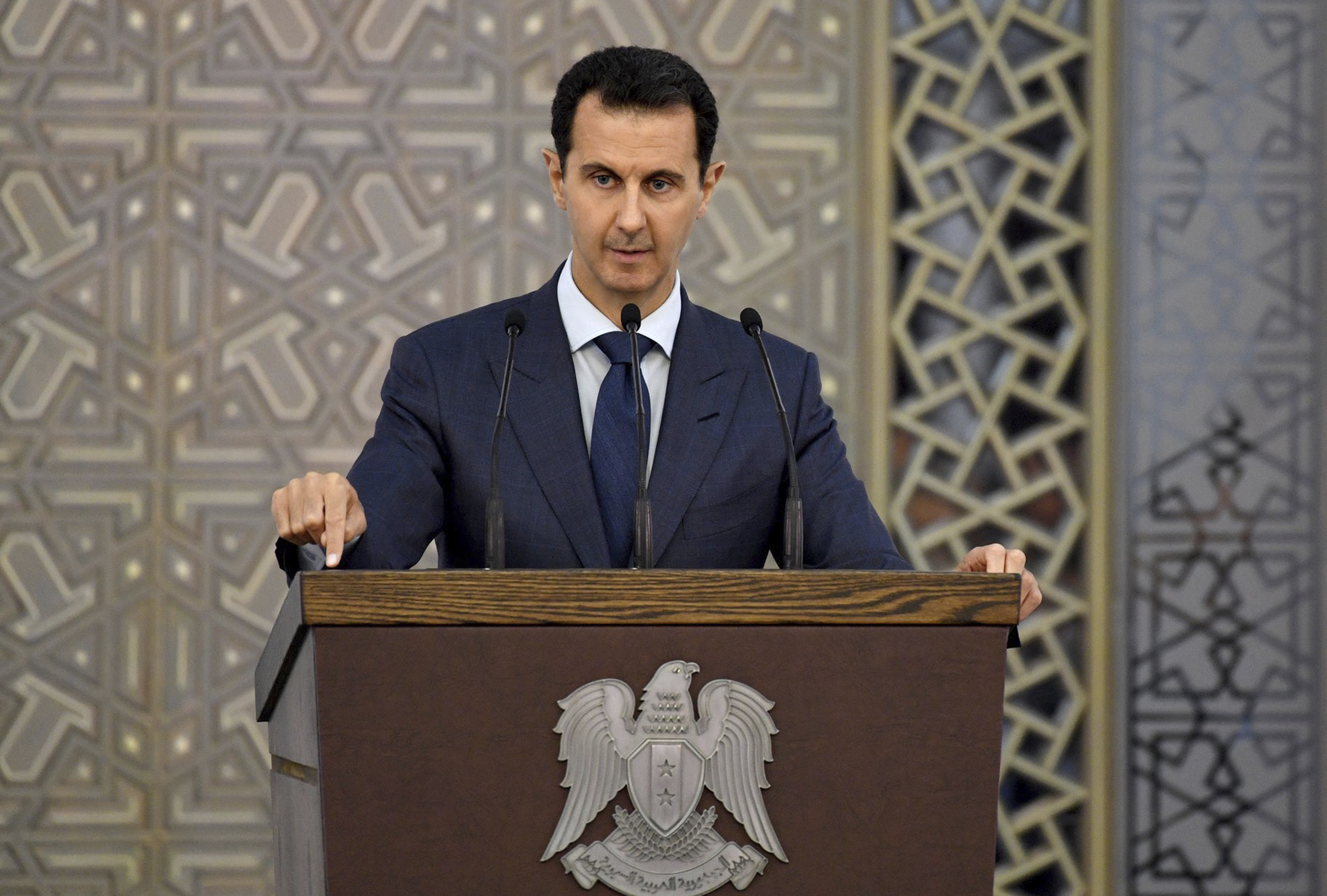 Assad is no longer pure evil, he's now being called the lesser evil
