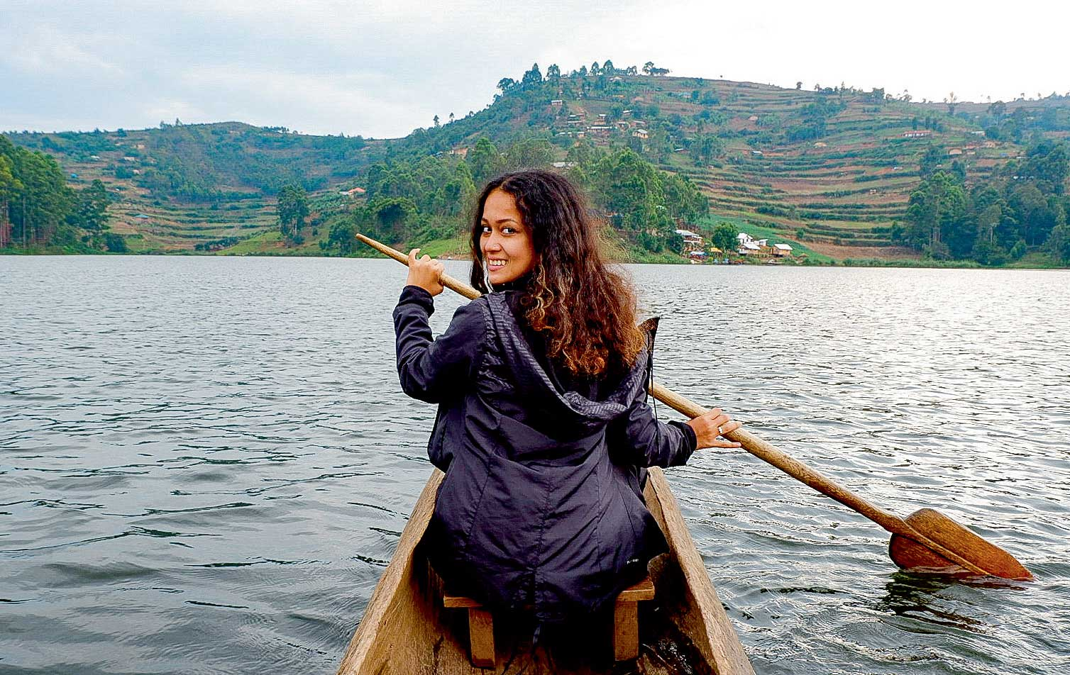 This woman's 24 and has visited 25 countries in 2 years. Jealous?