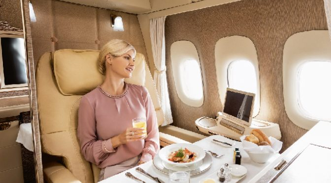 Emirates' new first-class suites are inspired by Mercedes-Benz