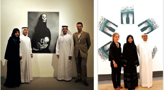 Inspiration comes from many sources for Emirati artist