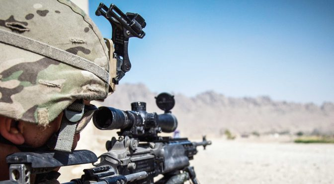 From Galicia to Raqqa: Spanish sniper trying to save humanity