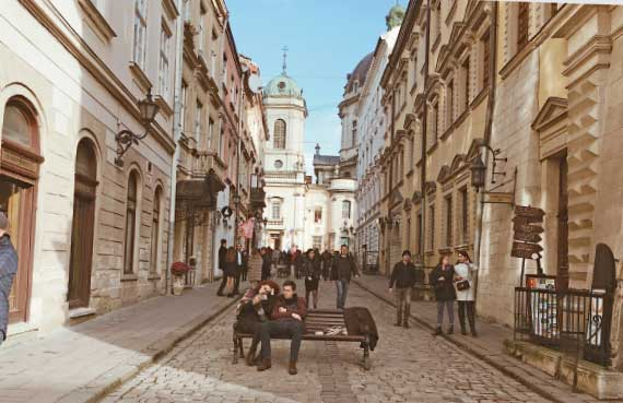 A single day in Lviv turned out to be a kind of homecoming