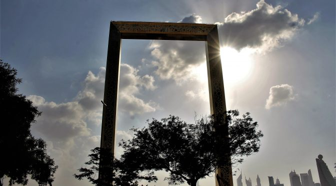 The best thing about the Dubai Frame might just freak you out