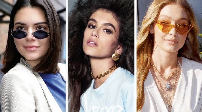The new supermodels with a few million Insta followers