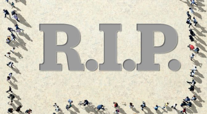 The tricky thing about paying condolences on social media