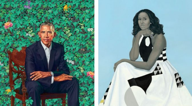 Like? Love? What do you feel about the Obama portraits?