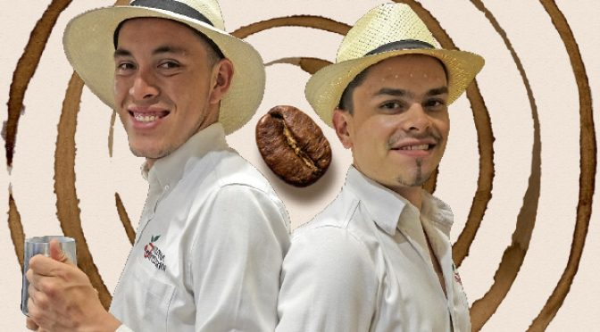 Coffee was just the break this Colombian duo needed