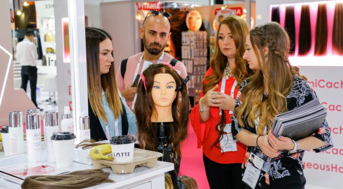 Chasing cucumbers, beard oil and nostalgia at a beauty expo