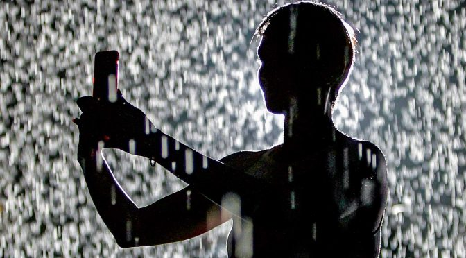 Why Rain Room in Sharjah is a perfect place to people watch