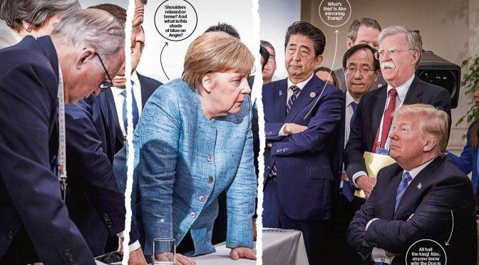 Sit up and read what to make of Angela Merkel's body language