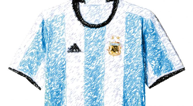 Get ready, I'm bringing out my Argentina jersey once again