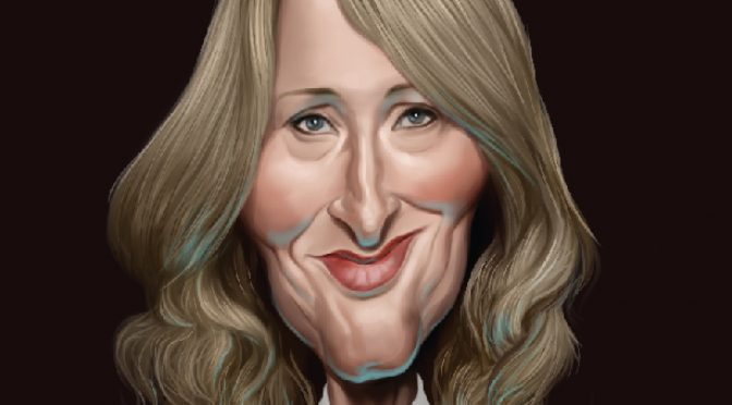 JK Rowling, and the mule who carried gifts from her up a hill