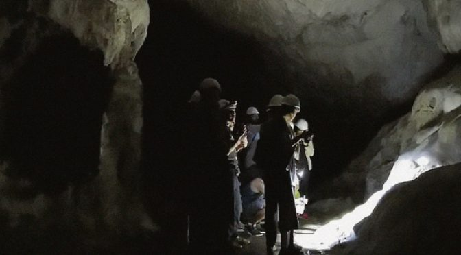 What those caves were like for the 12 brave Thai boys