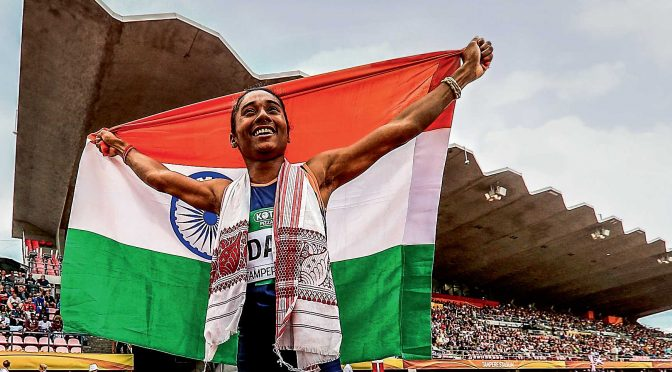 Hima Das and the importance of being free to run wild