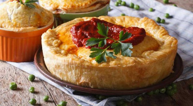 Kindly skip the cutlery, and eat that meat pie with your hands