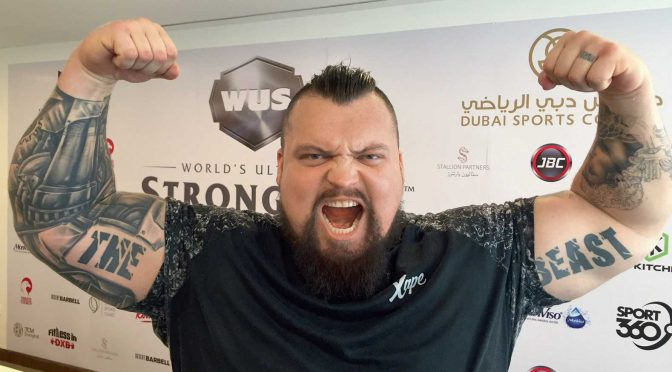 World's Strongest Man 2017 eats three chickens a day