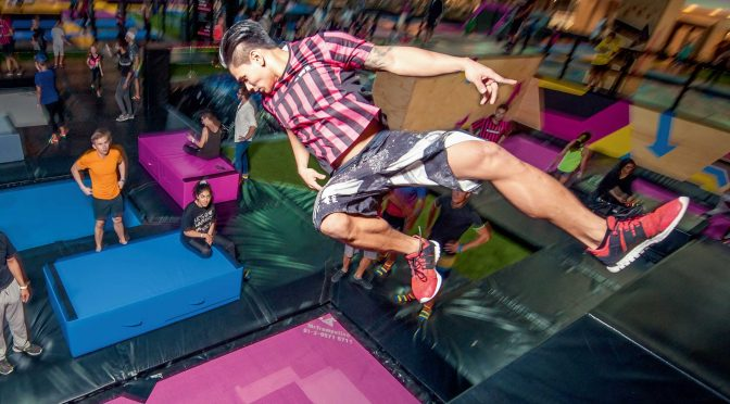 Why trampolining isn't just for kids: this adult loved it too