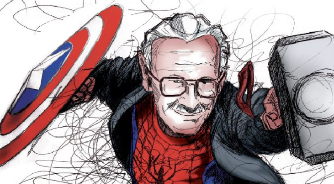 Stan Lee's characters inspired me to punch and defy the odds