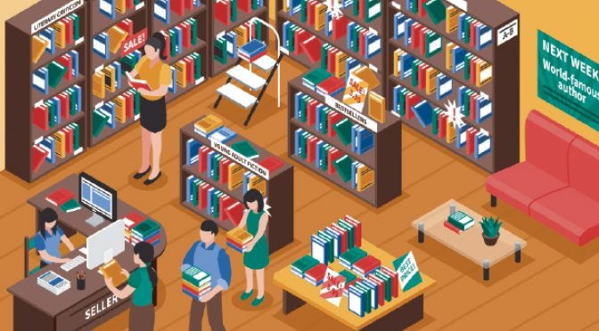 Why I love browsing in a real bookshop over a virtual one