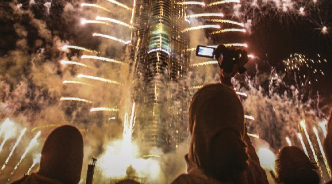 Thank you, Burj Khalifa, for bringing back the fireworks