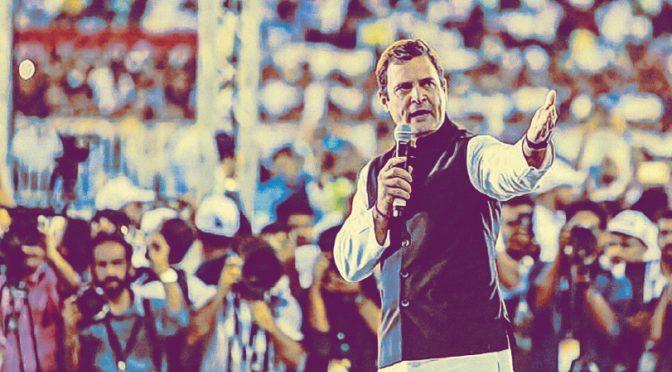 At his rally in Dubai, I got a sense of Rahul Gandhi 2.0