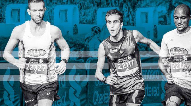 Two men became Hasan's eyes as he ran 10k at Dubai Marathon, blind