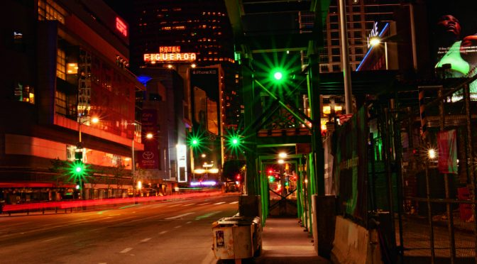 Why a nighttime stroll through LA beat the official tour