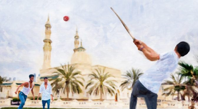 How about crunching a game of cricket before munching at Iftar?