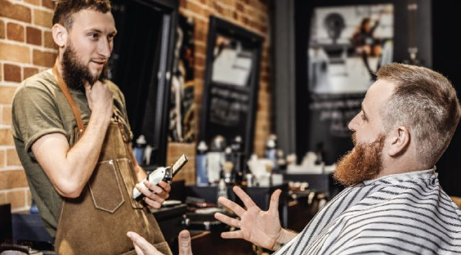Don't ever mistake a salon for a barbershop