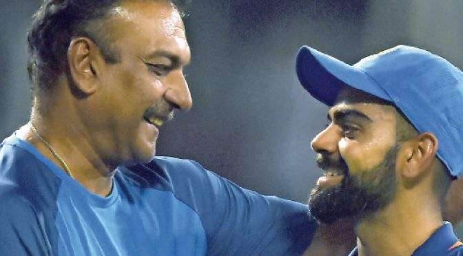 Why Kohli is backing Shastri for coach