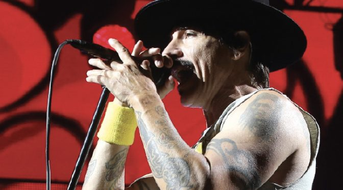Red Hot Chili Peppers roll back the years in Abu Dhabi