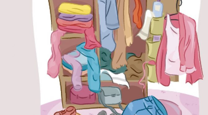 Why you should clear your closet clutter
